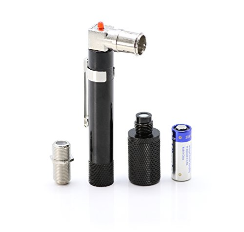 Price comparison product image THE CIMPLE CO Coaxial (Coax) Pocket Continuity Tester (Tracer) with Voltage Toner (Sound) and Barrel Connector Bundle, For testing, labeling, and identifying coaxial lines