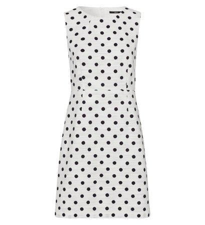 Zero kleid mit polka dots