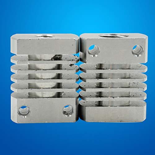 - 9OVE, 3D Printer Heat Dissipation Cooling Exhaust Fan Plate Aluminum High Efficiency - Silver