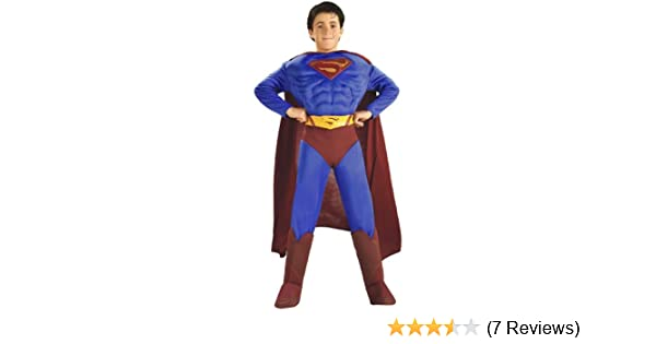 127d24b2887 Toddler Deluxe Muscle Chest Superman Returns Costume (size 2-4)
