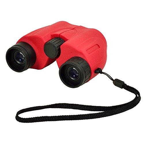 Picnic at Ascot Compact 6 x 22mm Binoculars,  Optics 140/1000 – Red Review