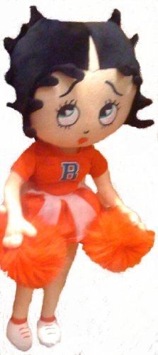Zap Betty Boop Wearing Red Cheer Leader Dress Holding Pom...