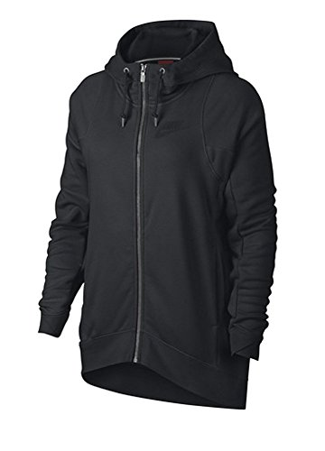 Nike Damen Modern Cape Kapuzenpullover Carbon Heather/Cool