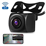 AUTOLOVER Vehicle WiFi Backup Camera, Car Reverse Parking Assistance Hidden Camera with Night Vision / IP67 Waterproof for Most Smart Devices
