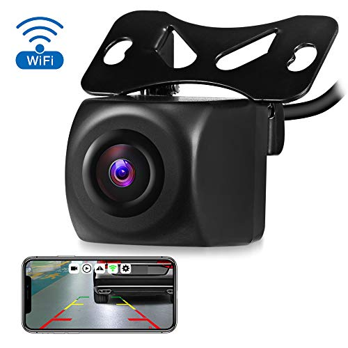 AUTOLOVER Wireless Backup Camera, HD 720p Backup Camera for car, Vehicles WiFi Backup Camera with Night Vision / IP67 Waterproof for iPhone, iPad or Andriod Devices