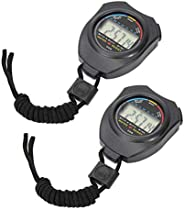 Stopwatch Timer, Multifunctional Stopwatch, Waterproof Dust and Shock Resistant, Suitable for Sports Referees