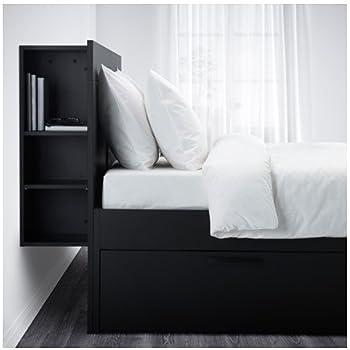 Amazon Com Ikea Full Size Bed Frame With Storage
