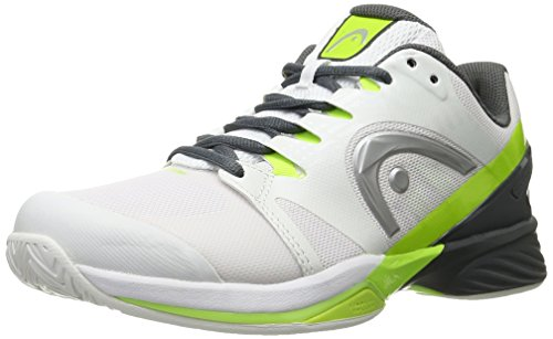 Head Men's Nitro Pro Tennis Shoe White/Neon Yellow 9 M US