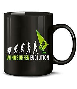 WINDSURFEN EVOLUTION 626(Schwarz-Grün)