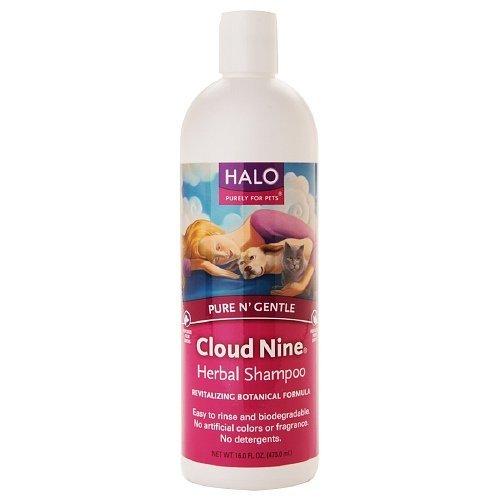 Herbal Halo Shampoo - Halo, Purely For Pets Cloud Nine Natural Herbal Shampoo 16 fl oz