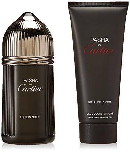 - Cartier Pasha De Cartier Edition Noire By Cartier for Men - 2 Pc Gift Set 3.3oz Edt Spray, 3.3oz Perfumed Shower Gel, 2count