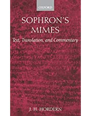 Sophron's Mimes: Text, Translation, and Commentary