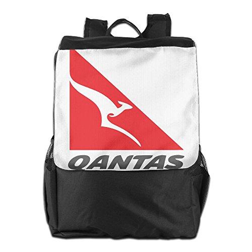 qantas-airline-logo-kangaroo-daypack-travel-backpack-for-men-women-boy-girl