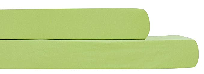 Amazon.com: AURAA Baby Fitted Crib Sheets Set, 2 Pack Crib Mattress Topper for Baby Boys Girls,Ultra Soft, Full Standard (Sage): Home & Kitchen