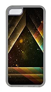 iPhone 5c case, Cute Pyramid Art iPhone 5c Cover, iPhone 5c Cases, Soft Clear iPhone 5c Covers