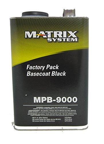 - Matrix MPB-9000-G Factory Pack Basecoat Black Toner Gallon