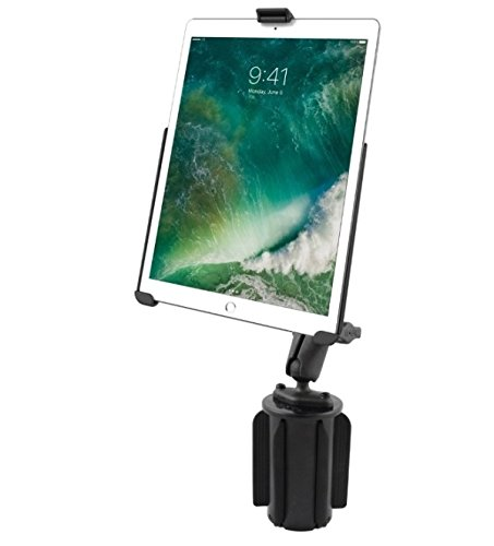 RAM Mounts Universal Portable Cup Holder Car Mount Kit for Apple iPad Pro 10.5'' by RAM