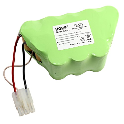 HQRP 14.4V Battery for Shark XBT1106 SV1106 SV1112 Freestyle Navigator Cordless Stick Vacuum XBT-1106 XBT11O6 SV11O6 + Coaster