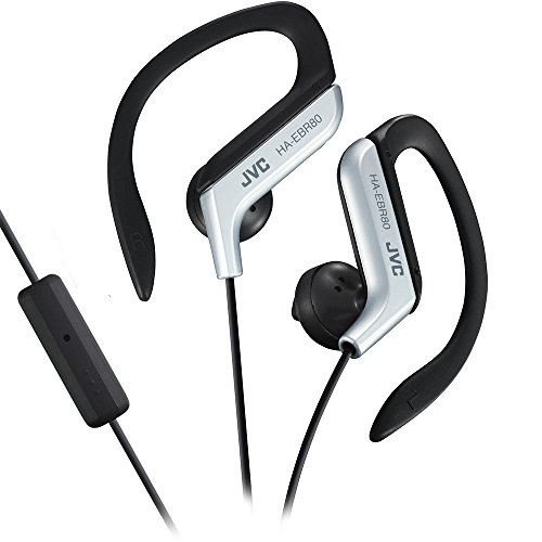 JVC HAEBR80S Sports Clip Headphones (Silver) - Jvc Ear Clip Headphones