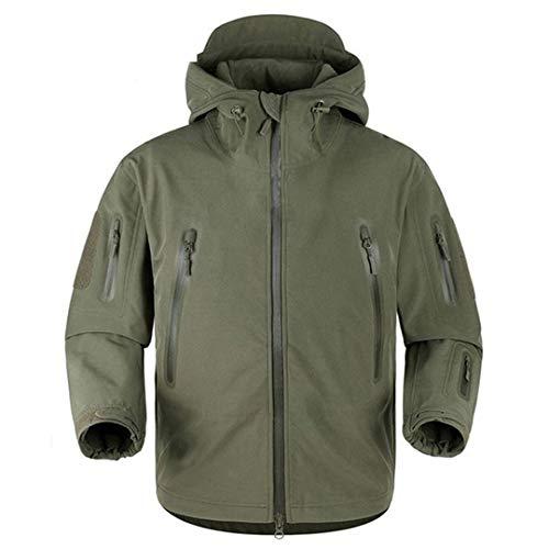Veste Thermique Tactique Militaire Hommes Coupe-Vent Respirant Soft Shell Armée Coats 5