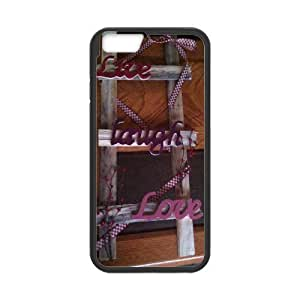 """Customized Durable Case for Iphone6 Plus 5.5"""", Live, love, laugh Phone Case - HL-507477"""