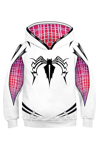 Kids Super Hero Hoodies Creative 3D Printed Sweatshirt Halloween Costume -