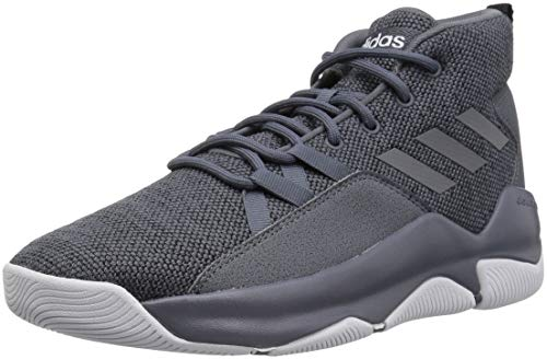 adidas Men's Streetfire Basketball Shoe, Onix/Black, 10 M US