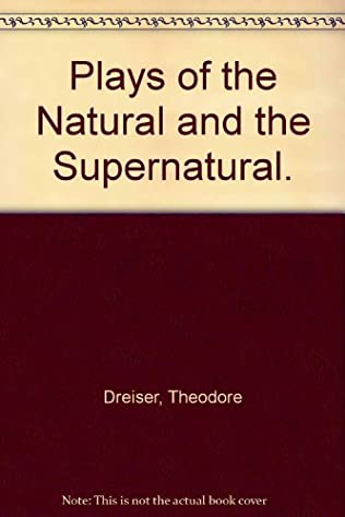 book cover of Plays of the Natural and the Supernatural