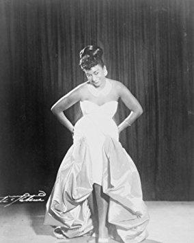 1962 Vintage Picture - 1962 photo Celia Cruz, full-length portrait on stage Vintage 8x10 Photograph - Ready to Frame