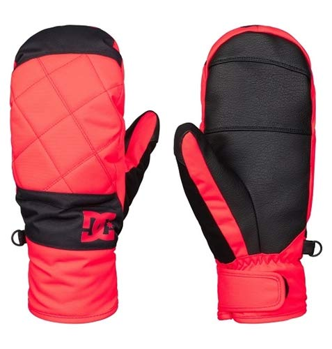 DC Shoes Womens Shoes Seger - Snow Mittens - Women - M - Pink Fiery Coral M from DC