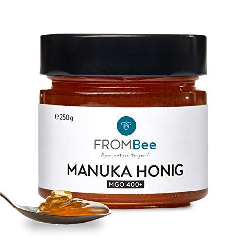 Frombee Manuka Honing MGO 400+ – Manuka-honing in een glas uit Nieuw-Zeeland – 100% natuurlijk en pure honing – puur van…