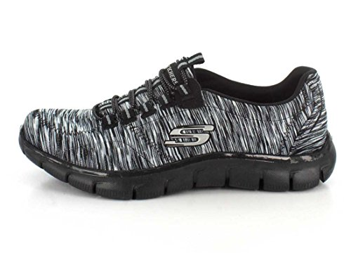 Sneakers On 9 Relaxed On Black Slip Game Womens Skechers Charcoal Empire Fit 5 qd8P0ZZ