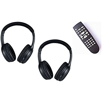 Amazon.com: 2 HEADPHONES and REMOTE for Nissan Armada ...