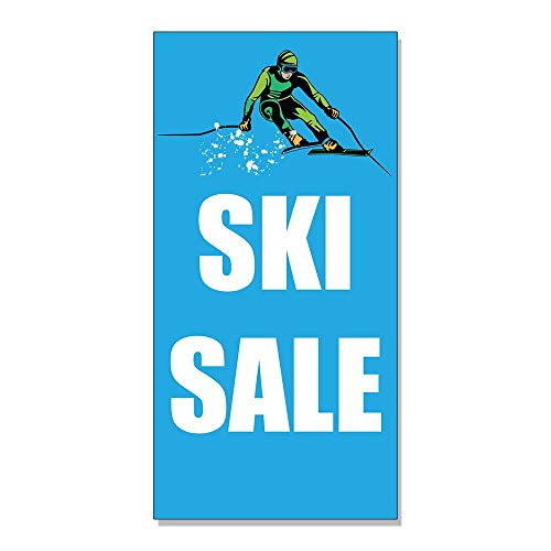 Ski Sale Business Advertisement Decal Sticker Retail Store Sign - 9.5 X 24 Inches from Yohoba