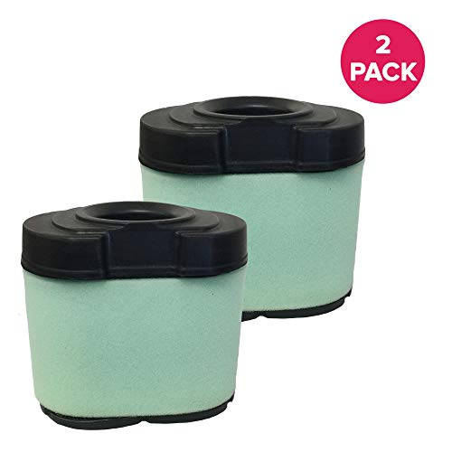 Think Crucial 2 Replacements for Briggs & Stratton/John Deere Air Filter, Compatible with Part # 792105, Fits 276890, 792105, 4233, 5405H, 5405K, GY21057 & MIU11515, V-Twin 16.0-27.0 HP ()