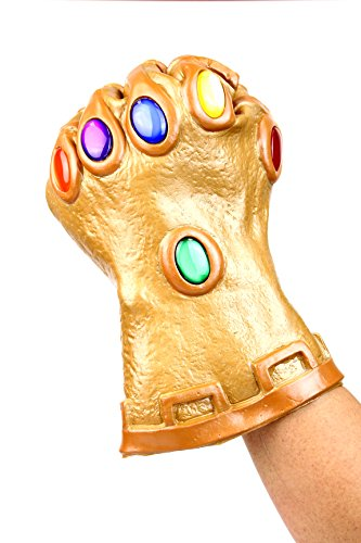 Infinity Gauntlet Gloves Thanos Nebula Avengers Wearable Movable Fingers (Infinity Gauntlet Gems)