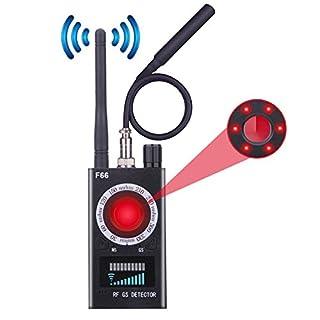 Upgraded Anti-spy Camera Detector,GSM Listening Device Finder,RF Detector&Laser Lens Detector for Hidden Spy Camera,Wireless Bug Detector&Camera Finder&Radar Radio Scanner for Travel,Hotel,Office