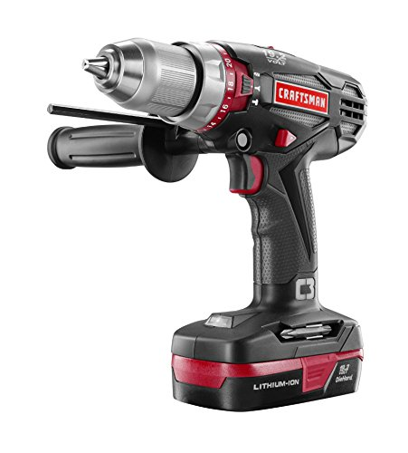 Craftsman 19.2 Volt Hammer Drill HD2000 Kit INCLUDES Battery and Charger