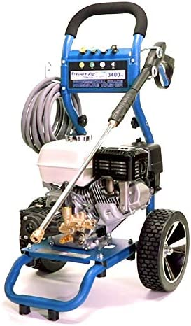 PressurePro PP3425H Dirt Laser Pressure Washer, Blue Black Silver
