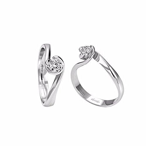 Bague recarlo Bague Solitaire xb463/025or diamant