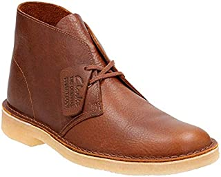 CLARKS Men's Desert Chukka Boot, Dark tan Tumbled Leather, 7.5 Medium US (B01JM4DQW8) | Amazon price tracker / tracking, Amazon price history charts, Amazon price watches, Amazon price drop alerts