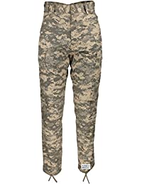 Mens ACU Digital Camo Poly Cotton Military BDU Army Fatigues Cargo Pants  with Pin d6a6e765ed