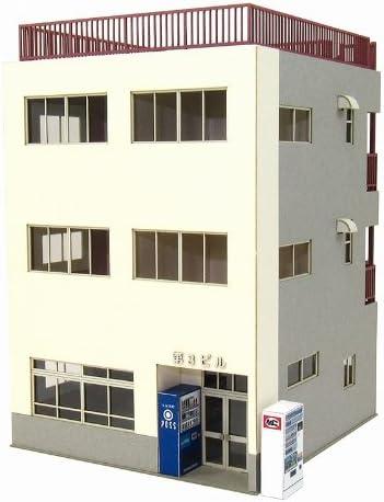 さんけい 1/80 情景シリーズ ビルー3 MK05-49 ペーパークラフト