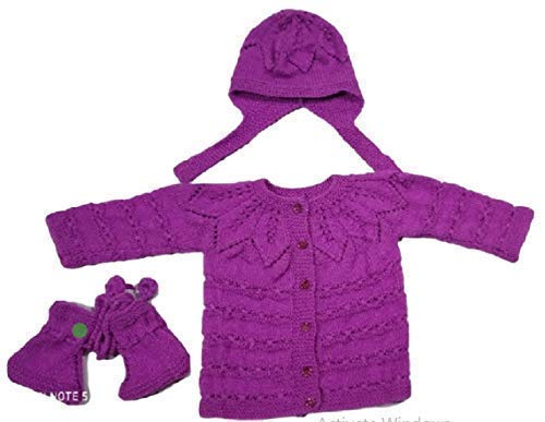 ca98f5d20 fancy traders Sweater for 0-6 Month Old Baby New Born Baby Wollen ...