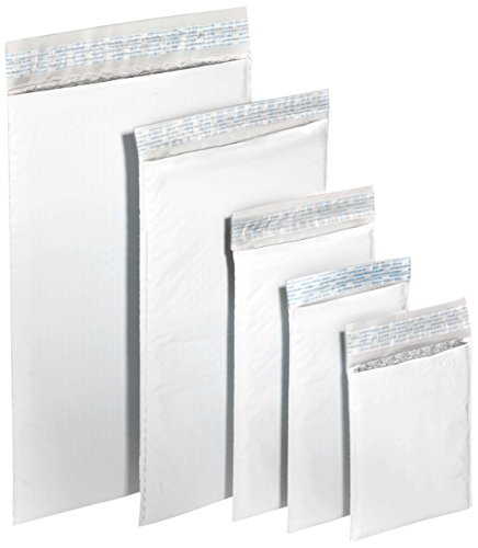 "Polyair Xpak #2 Bubble Lined Poly Mailer, XPAK225, 8.5"" x 12"" (Pack of 25),12"""