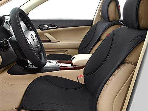 Autofurnish Universal Waterproof Car Seat Cover with Head Rest Black /…