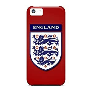 LJF phone case First-class Case Cover For ipod touch 5 Dual Protection Cover England Football Logo
