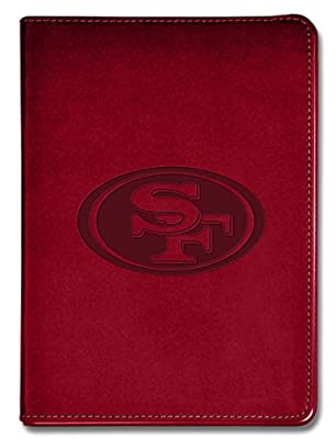 "National Design NFL San Francisco 49ers Executive Journal - 5 1/2"" x 8"" - Red - 100 Pages (14313-NFL-QUY-R)"