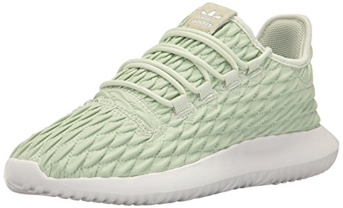 adidas Originals Women's Shoes | Tubular Shadow Fashion Sneakers, Linen Green Linen Green/White, (5 M US) by adidas Originals