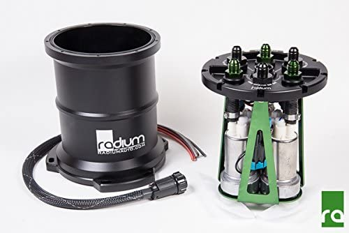 Radium Engineering Fuel Surge Tank Standard E85 for Walbro F90000267//274 Pump